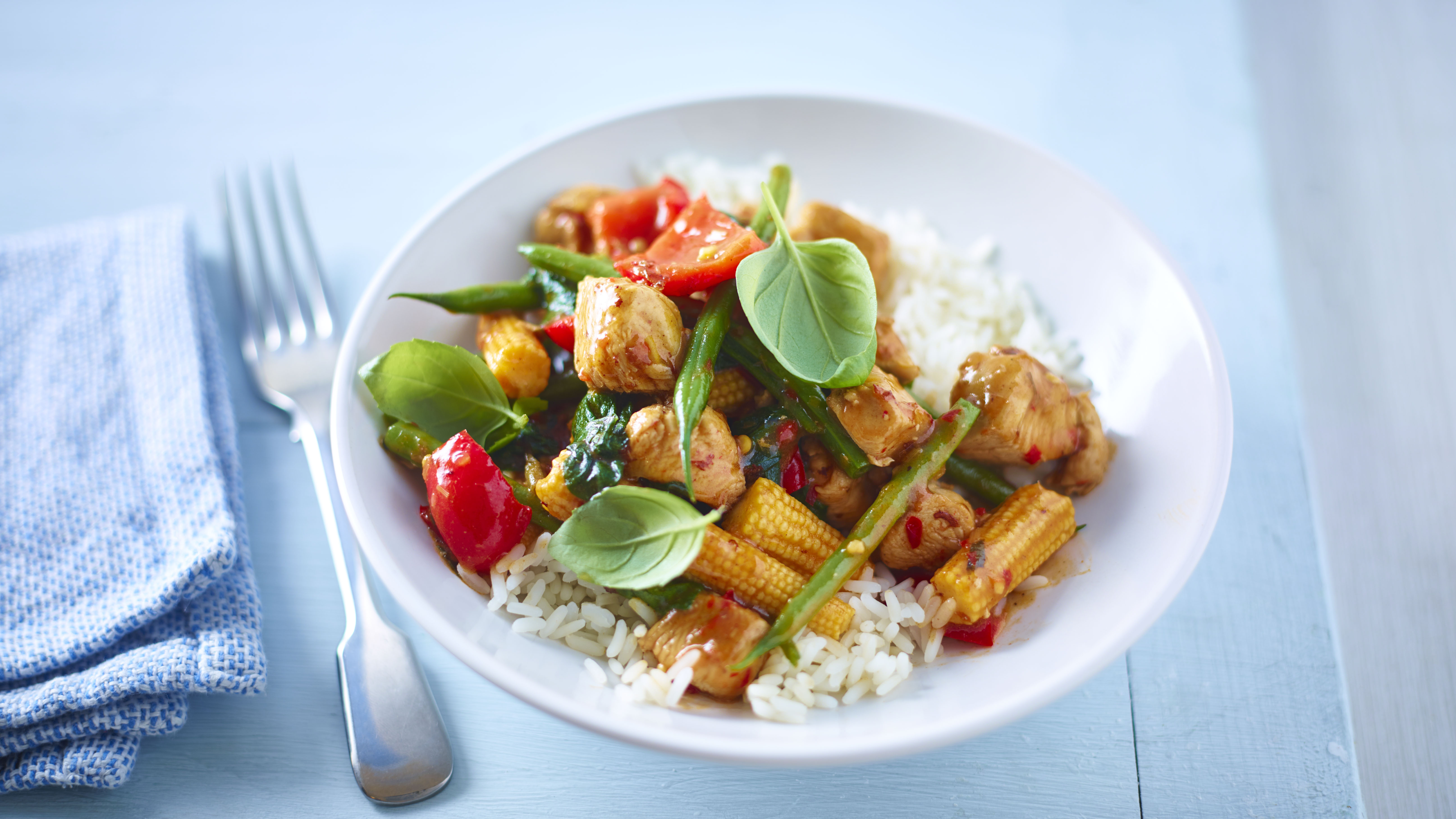 Jungle chicken curry with rice recipe bbc food forumfinder Images