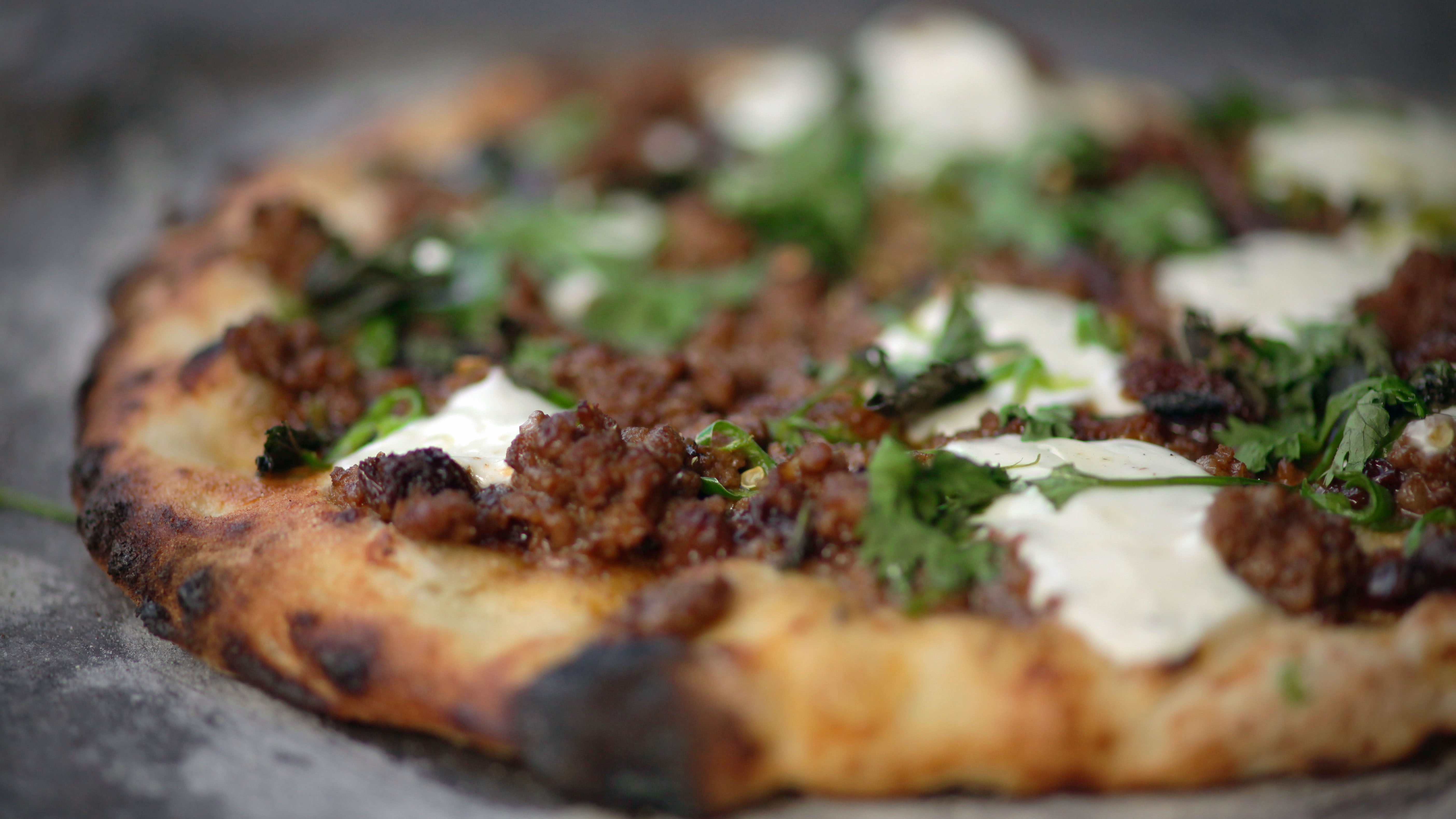 Lebanese spiced lamb flatbread recipe bbc food forumfinder Choice Image