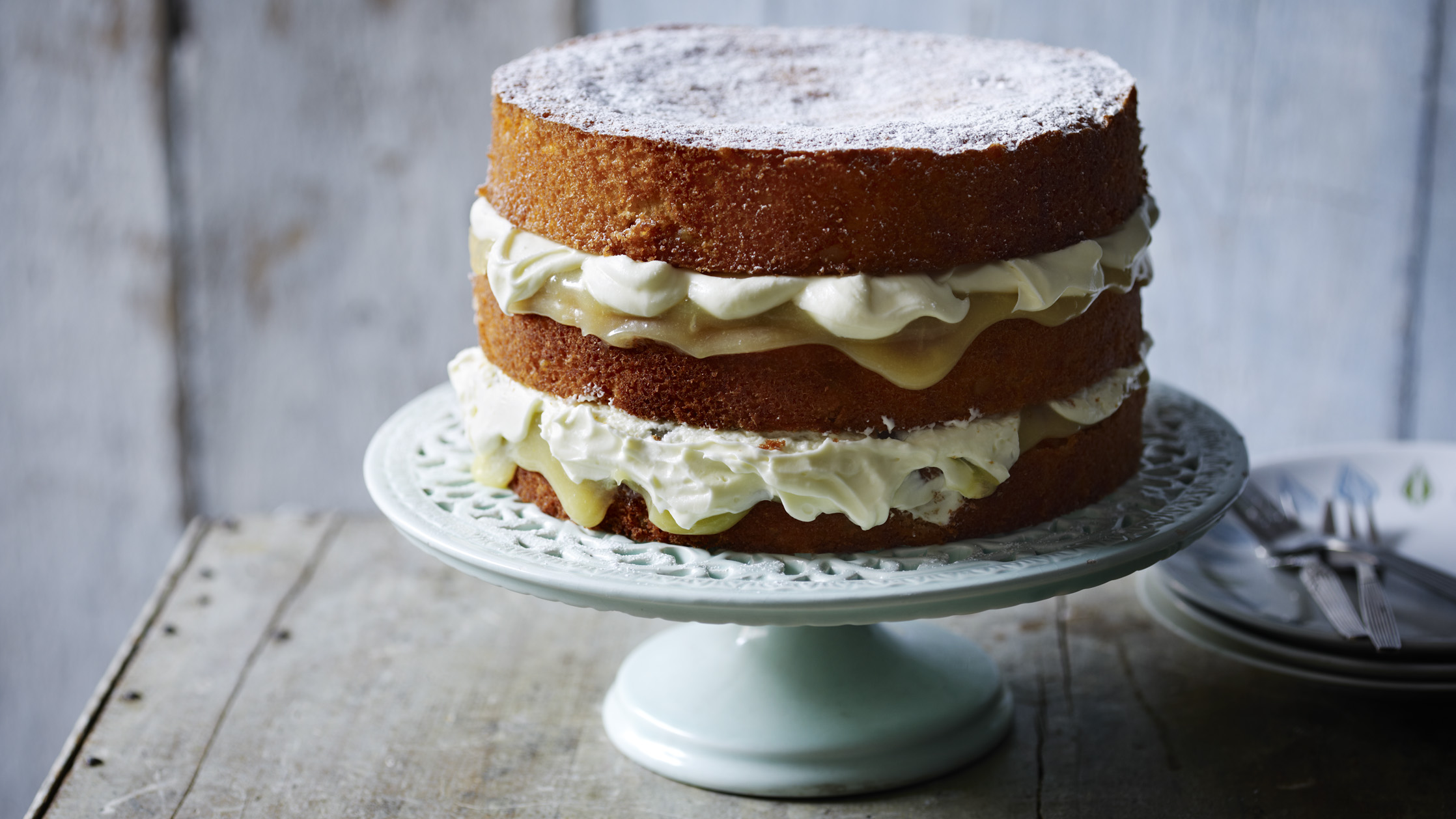 Carrot Cake Recipe Uk Bbc: Bbc Food Recipe For Lemon Drizzle Cake