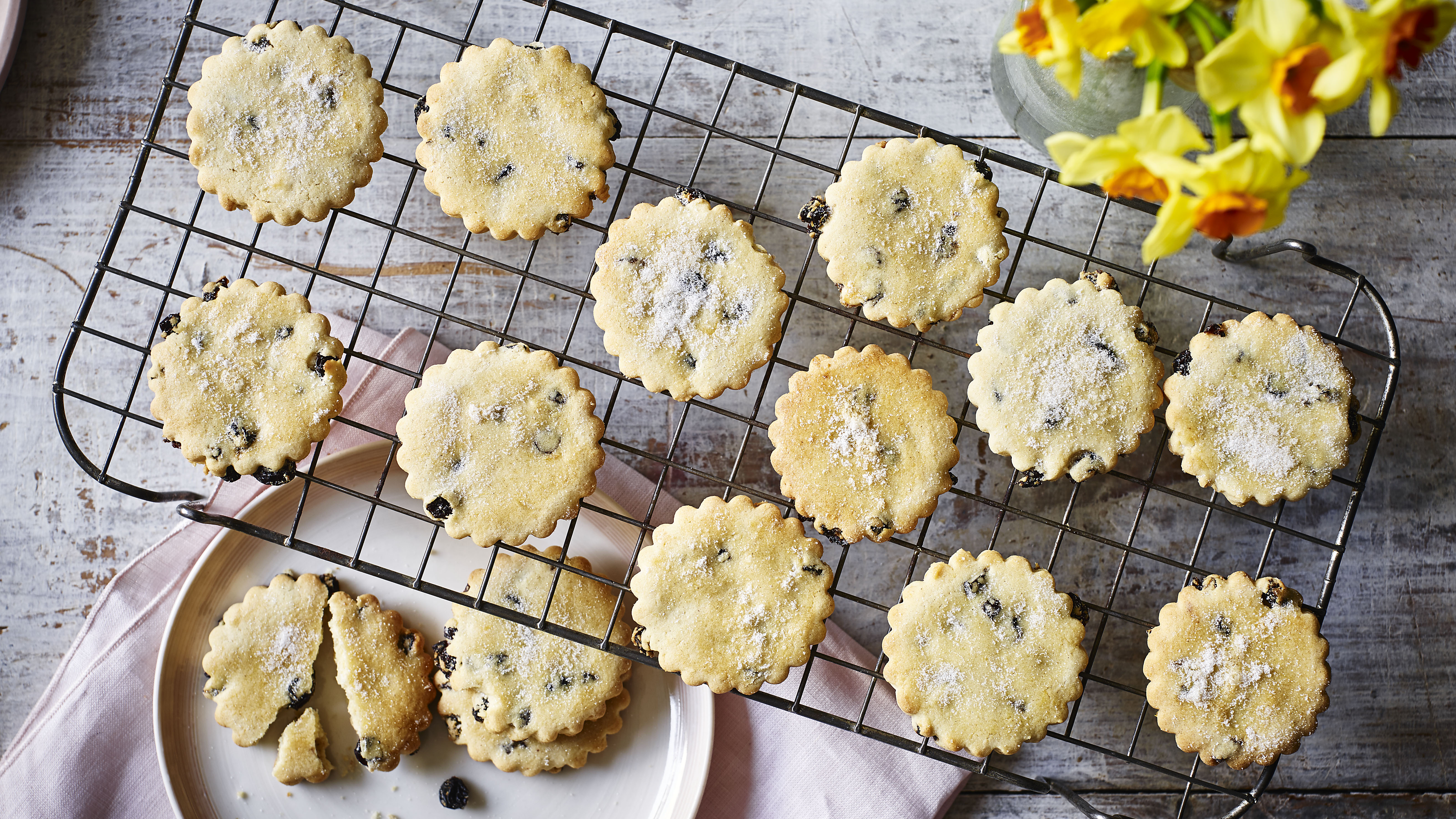 Mary Berry Easter Biscuits Recipe Bbc Food