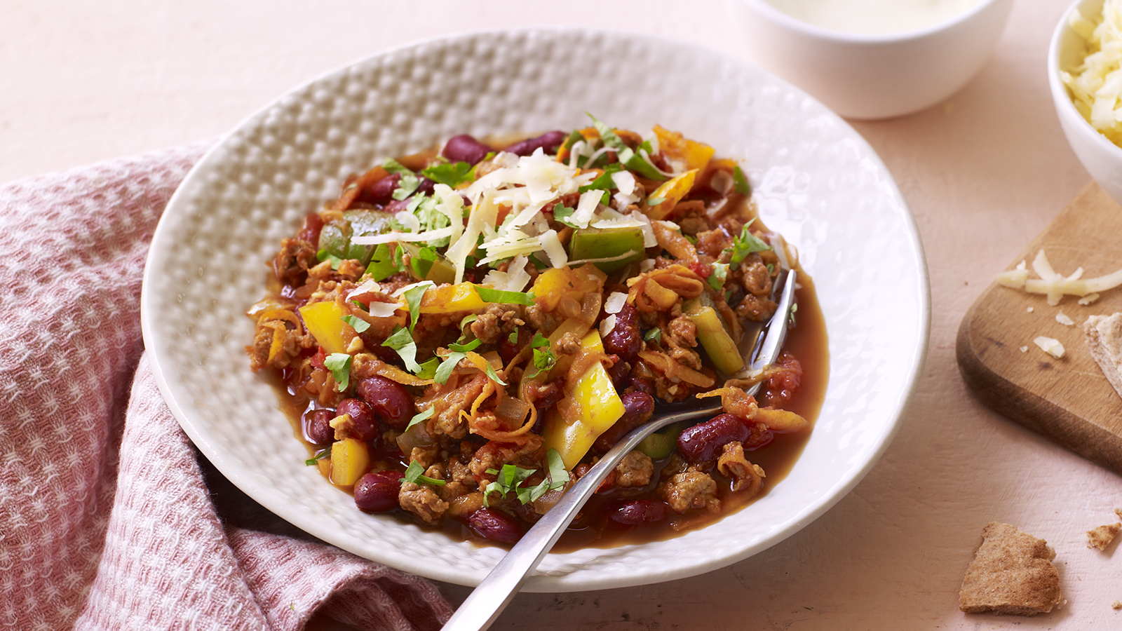 Meat free chilli con carne recipe bbc food forumfinder Image collections