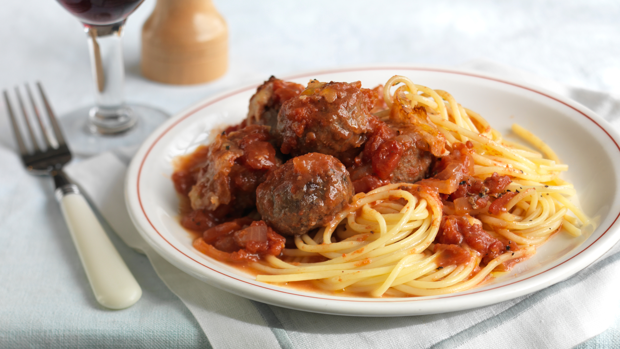 Meatballs With Tomato Sauce Recipe Bbc Food
