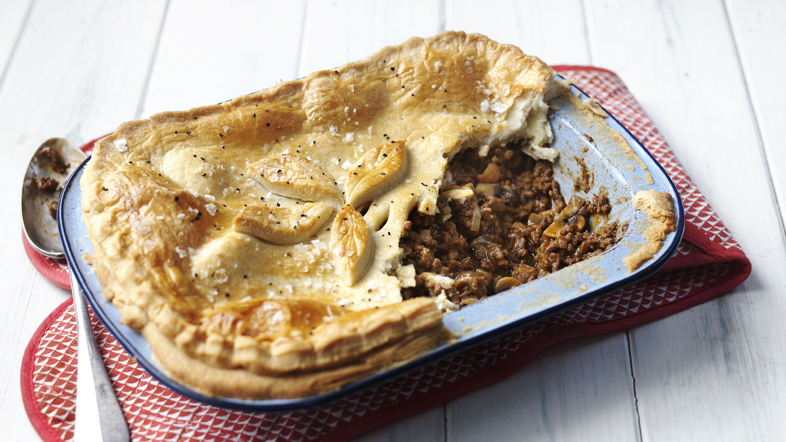 Minced Beef Pie Recipe Bbc Food
