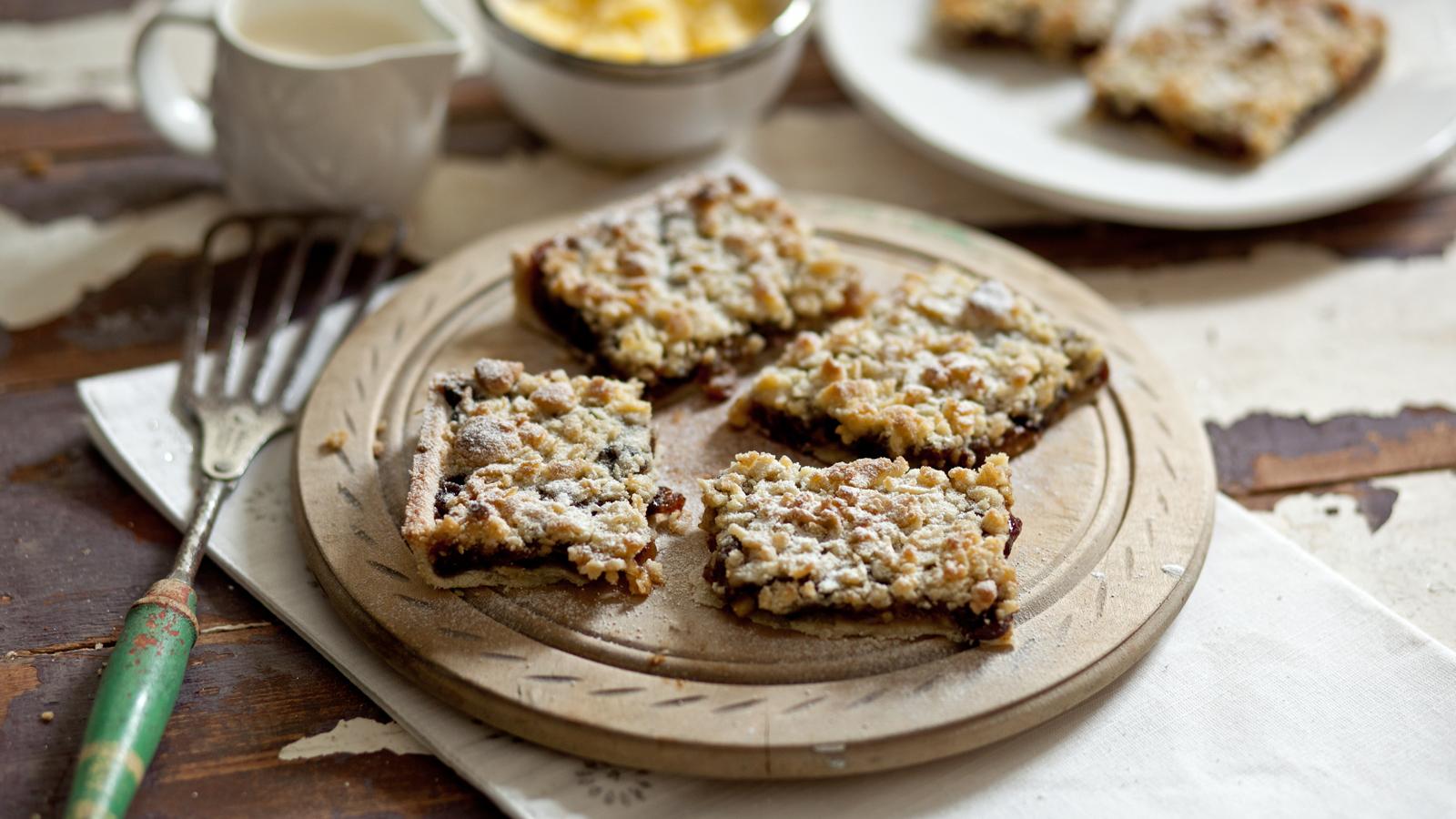 Mincemeat Streusel Recipe Bbc Food