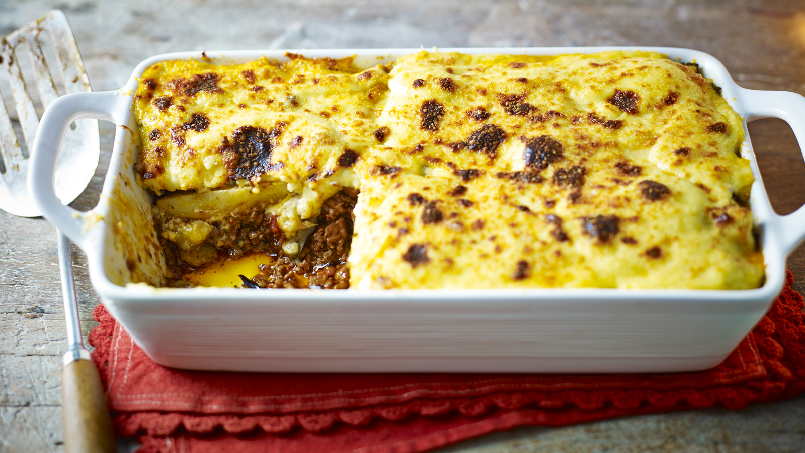 Moussaka Recipe Bbc Food