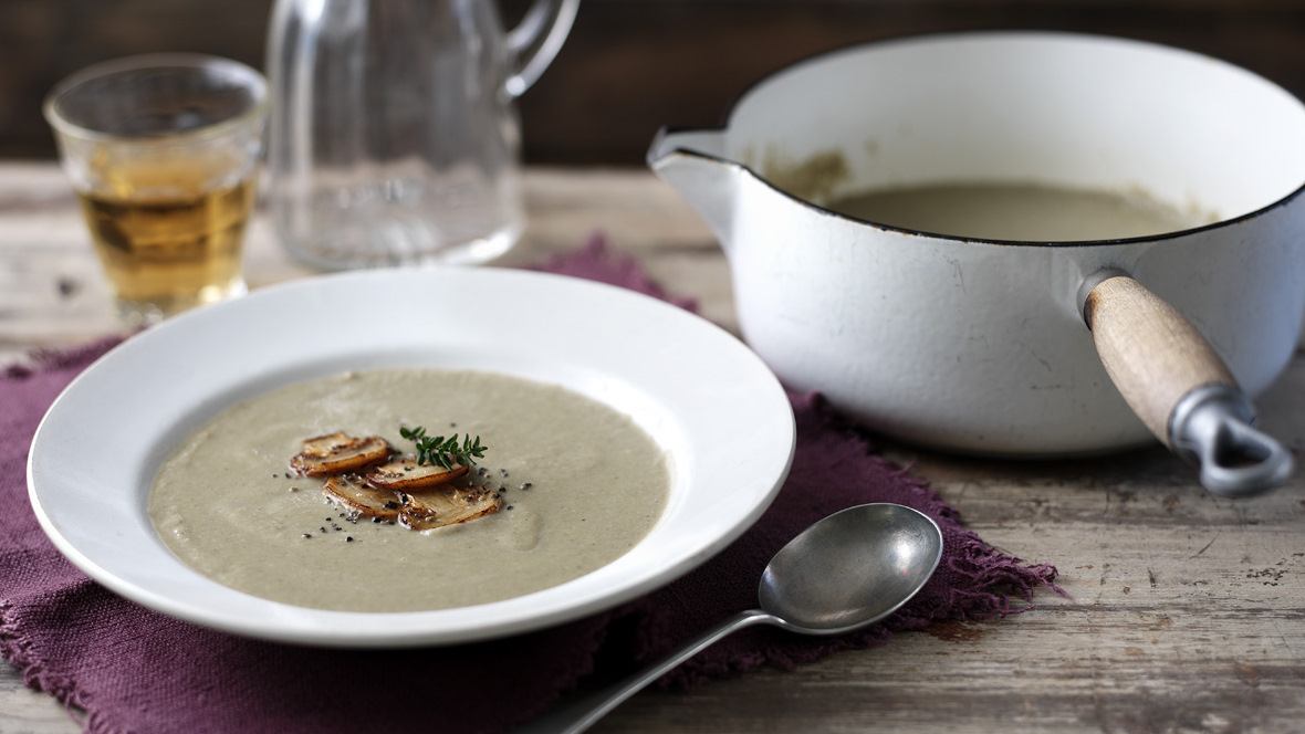 Mushroom Soup Recipe Bbc Food