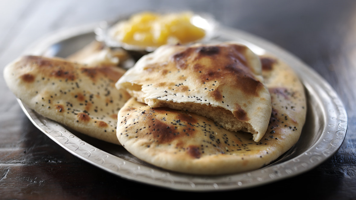 Naan Bread Recipe Bbc Food