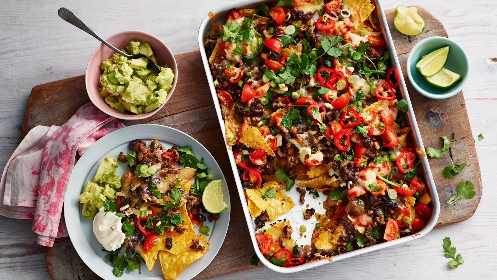 nachos recipe bbc food