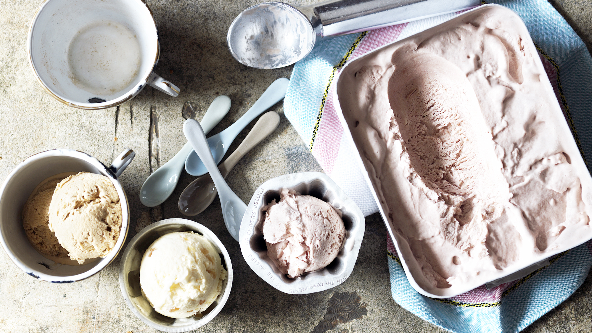 Easy no-churn ice cream recipe - BBC Food