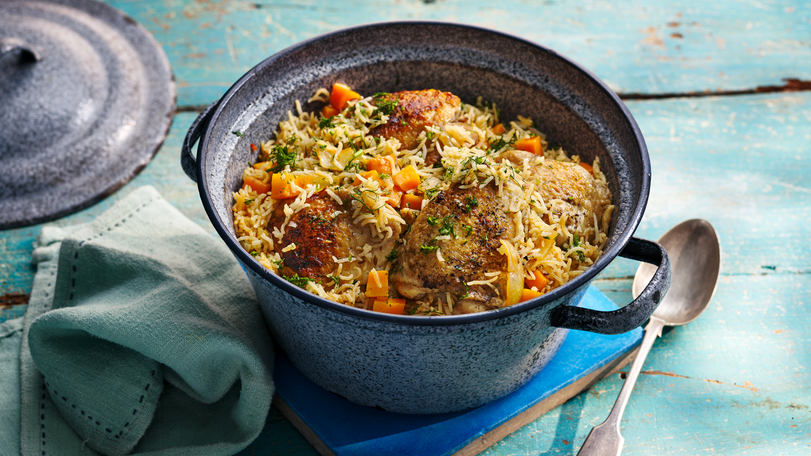 Healthy Chicken And Rice Recipe Bbc Food