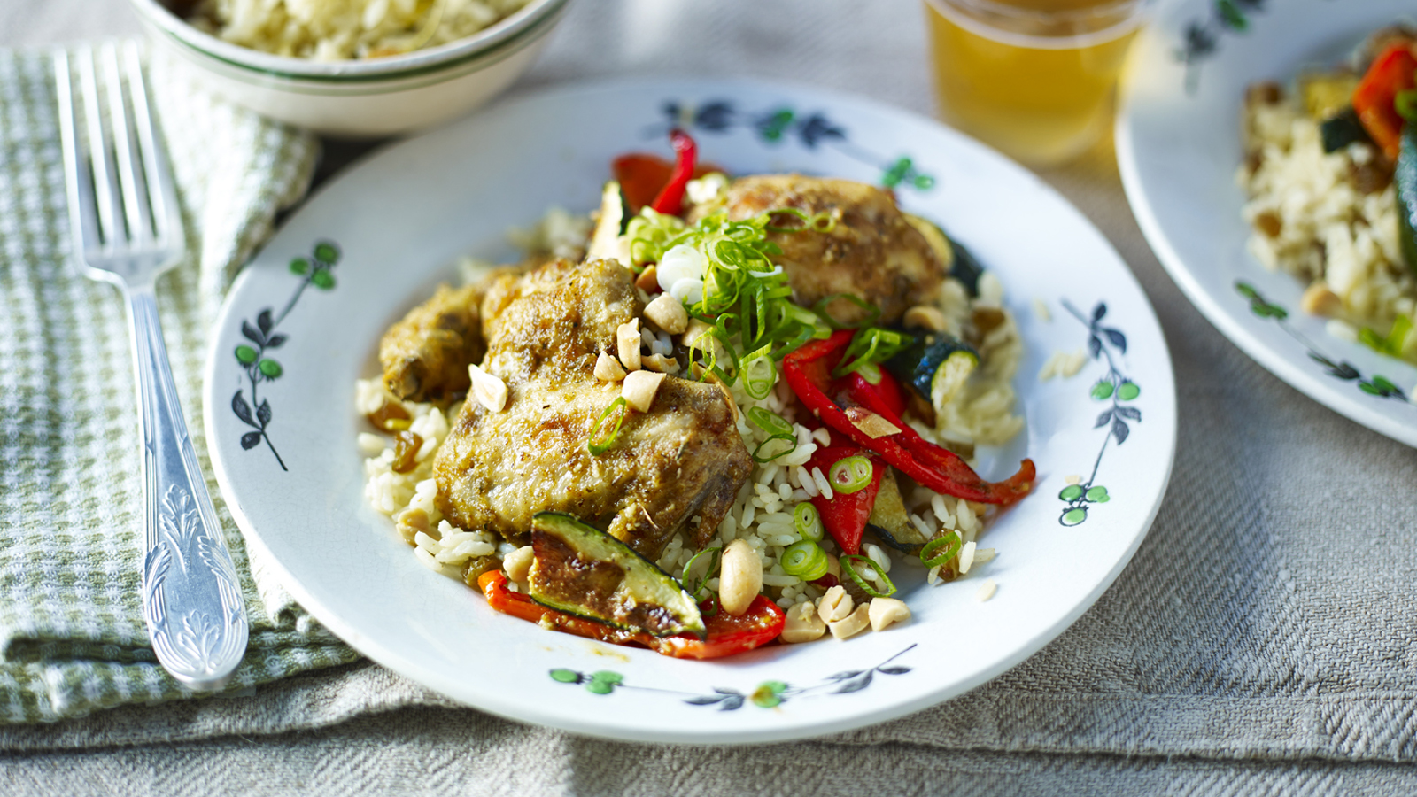 Chicken with spicy rice recipe bbc food forumfinder Images