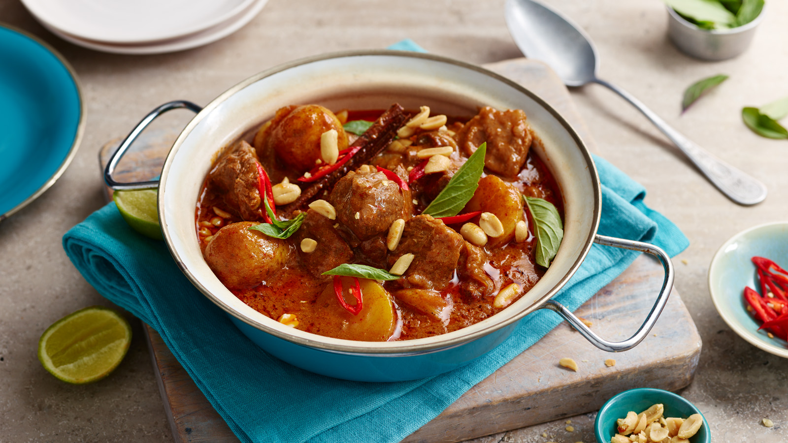 Ox Cheek Massaman Curry Recipe Bbc Food