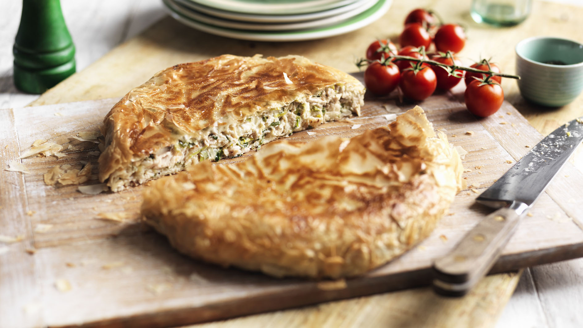 Pan fried chicken pie recipe bbc food forumfinder