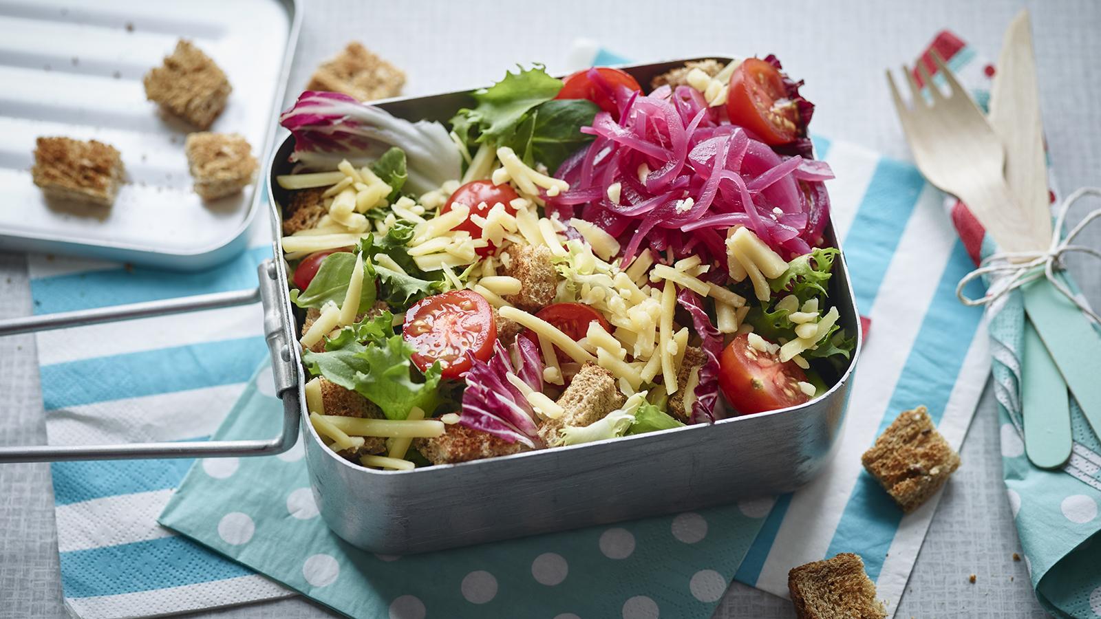 Ploughmans lunch salad recipe bbc food forumfinder Gallery