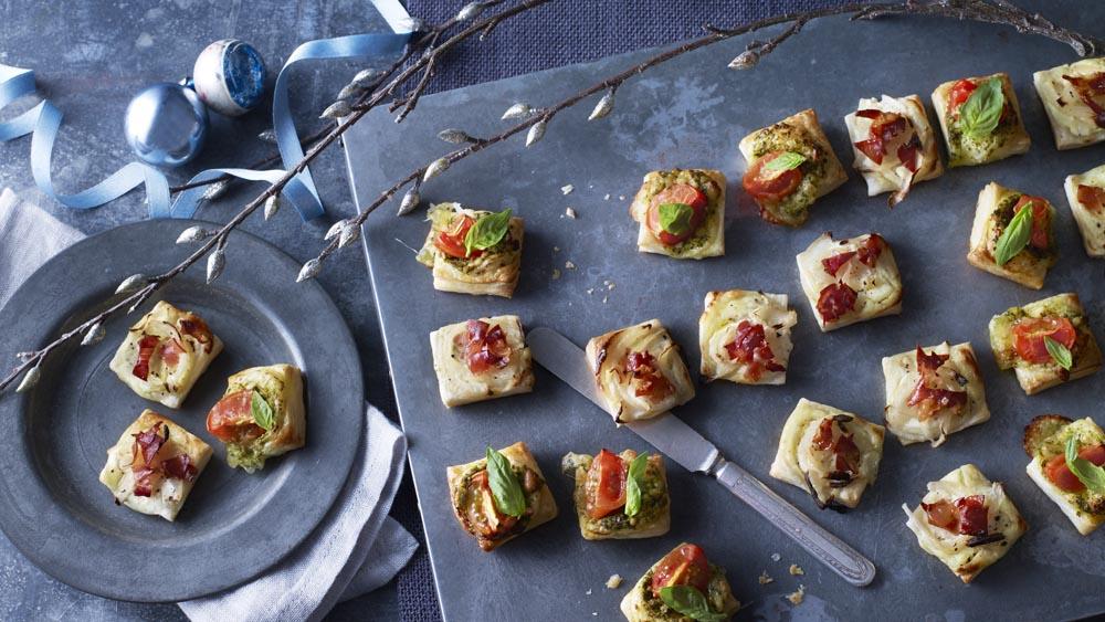 Puff pastry pizza bites recipe bbc food forumfinder Images