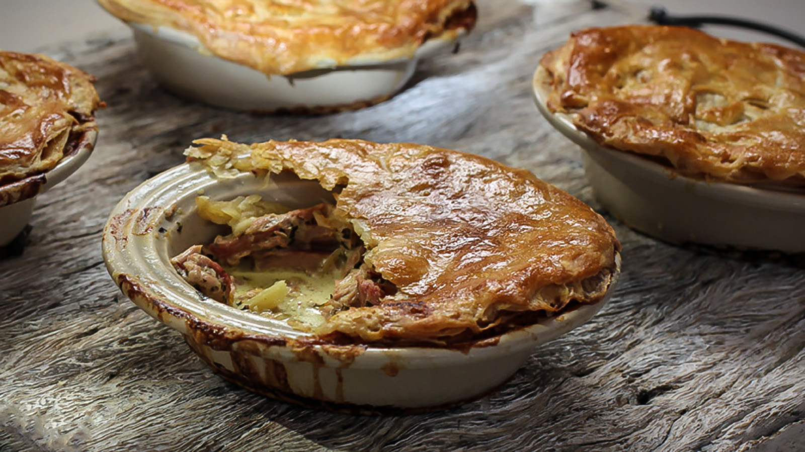 Rabbit and pancetta pot pies recipe bbc food forumfinder