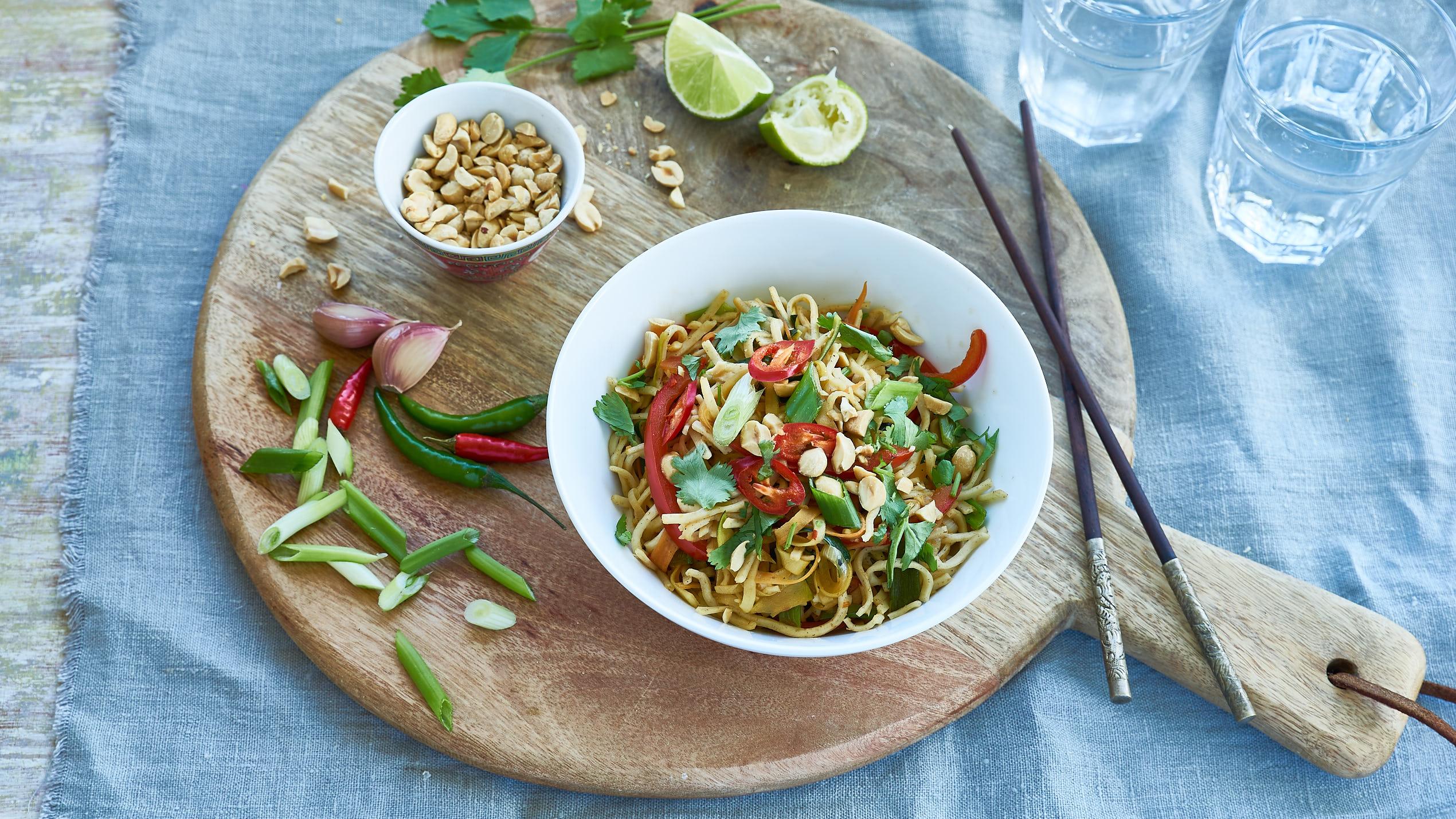 Rainbow noodles recipe bbc food forumfinder Gallery