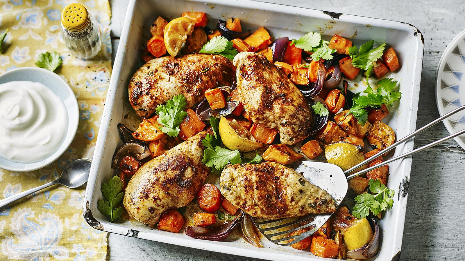 Ras el hanout baked chicken recipe bbc food forumfinder Image collections