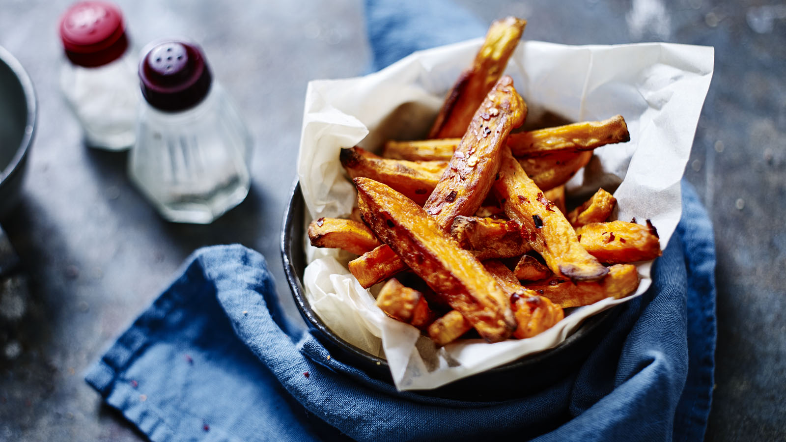 Sweet Potato Oven Chips Recipe Bbc Food