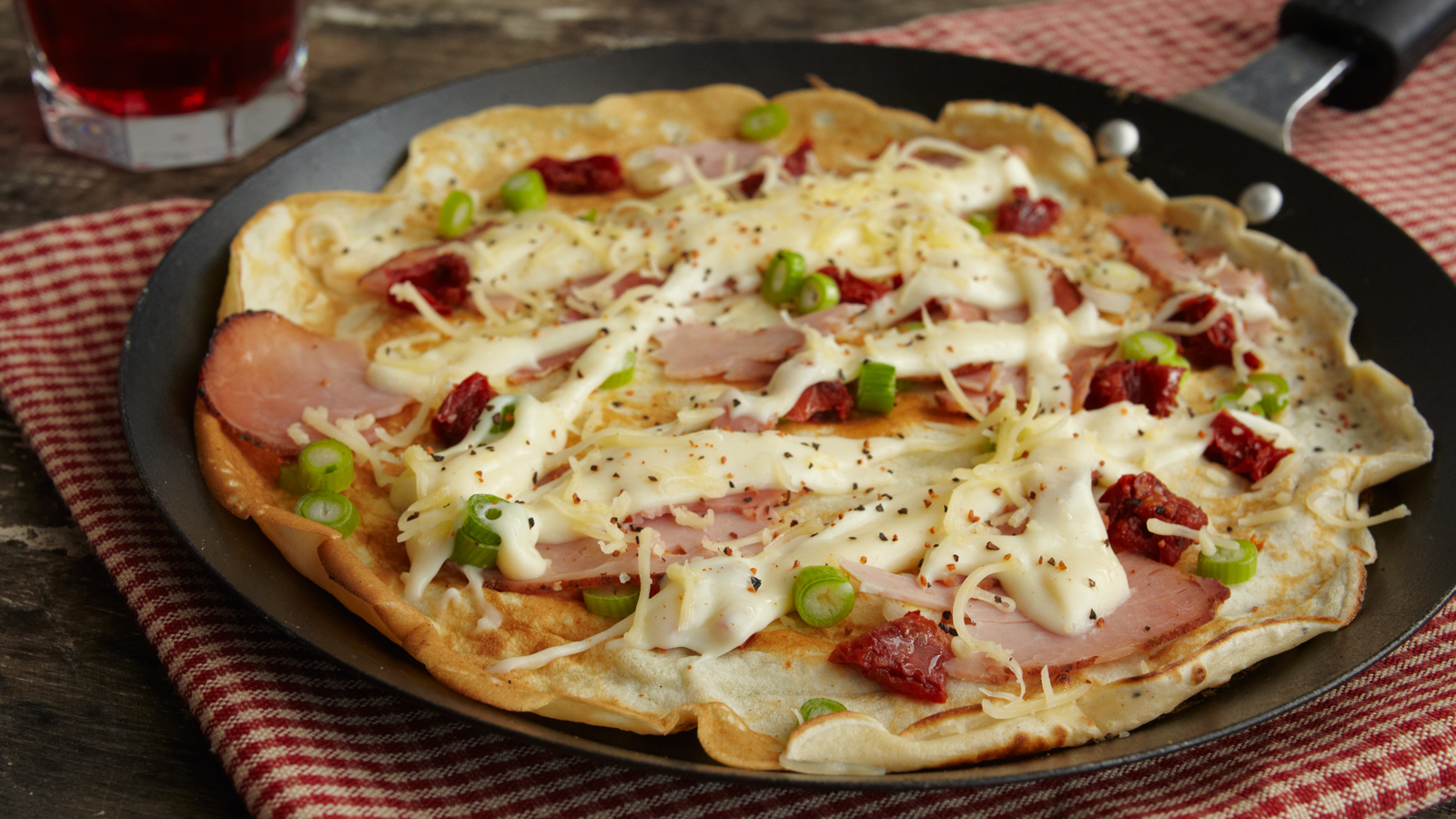 How to cook pancakes with ham and cheese Recipes and tips 100