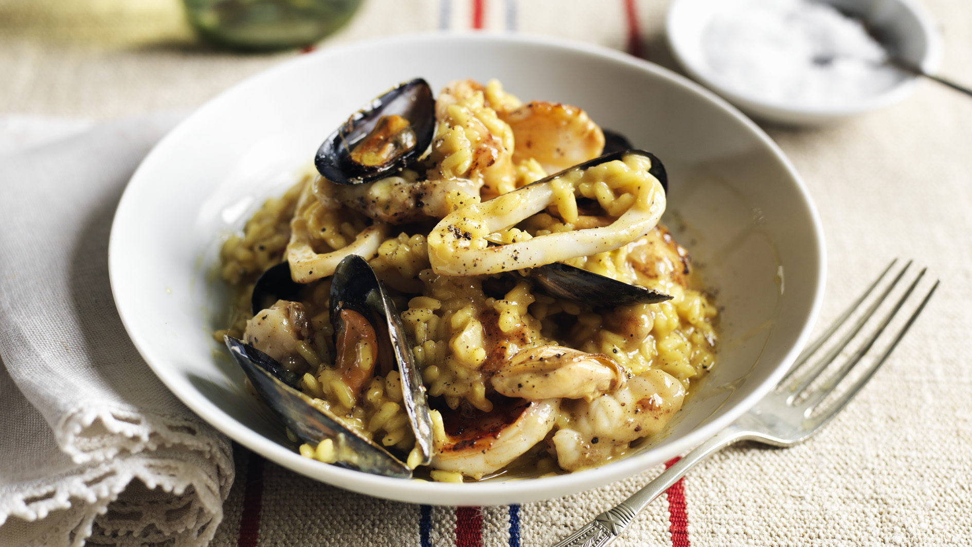Seafood risotto recipe bbc food forumfinder Gallery