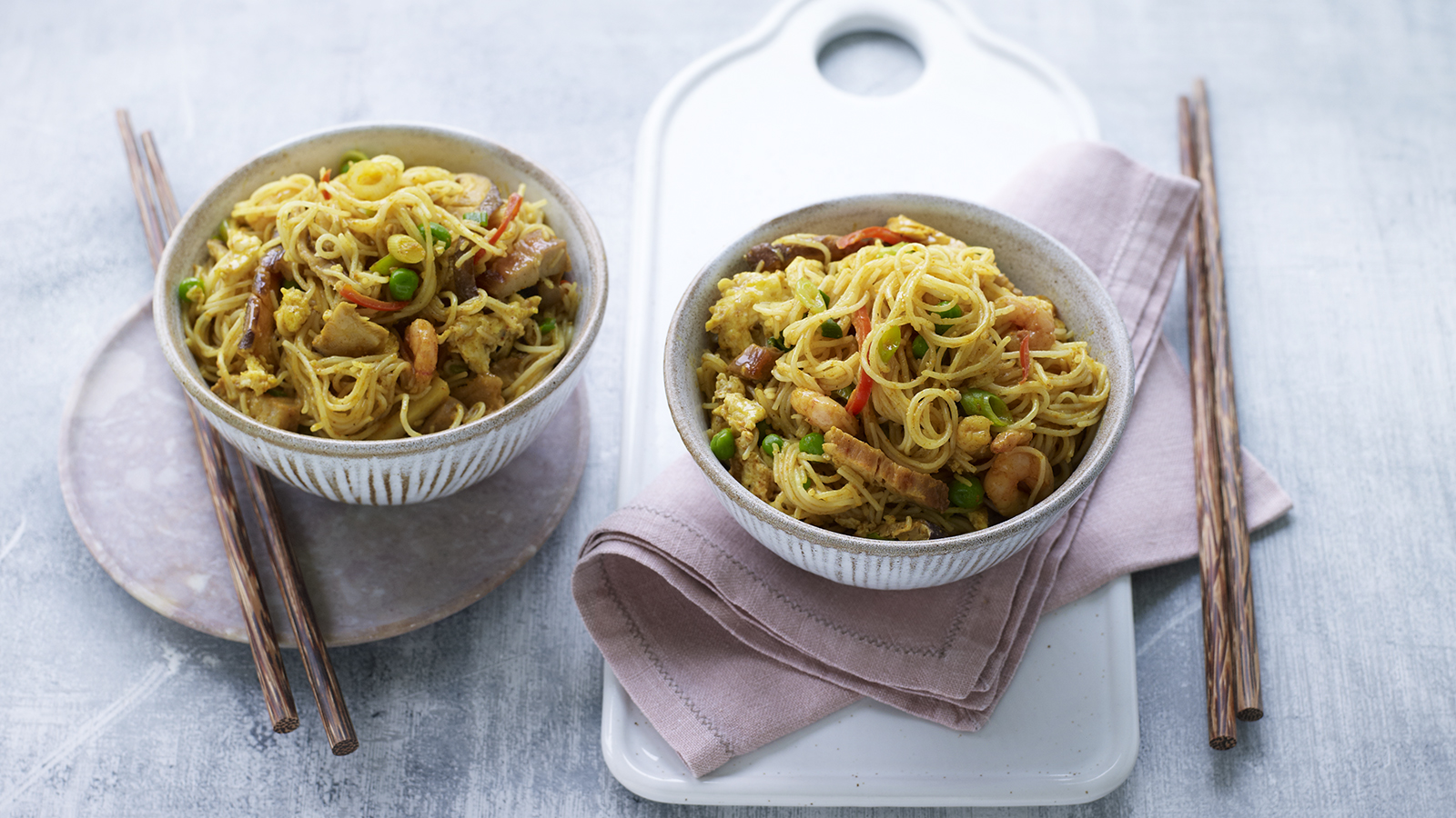 Ken Homs Singapore Noodles