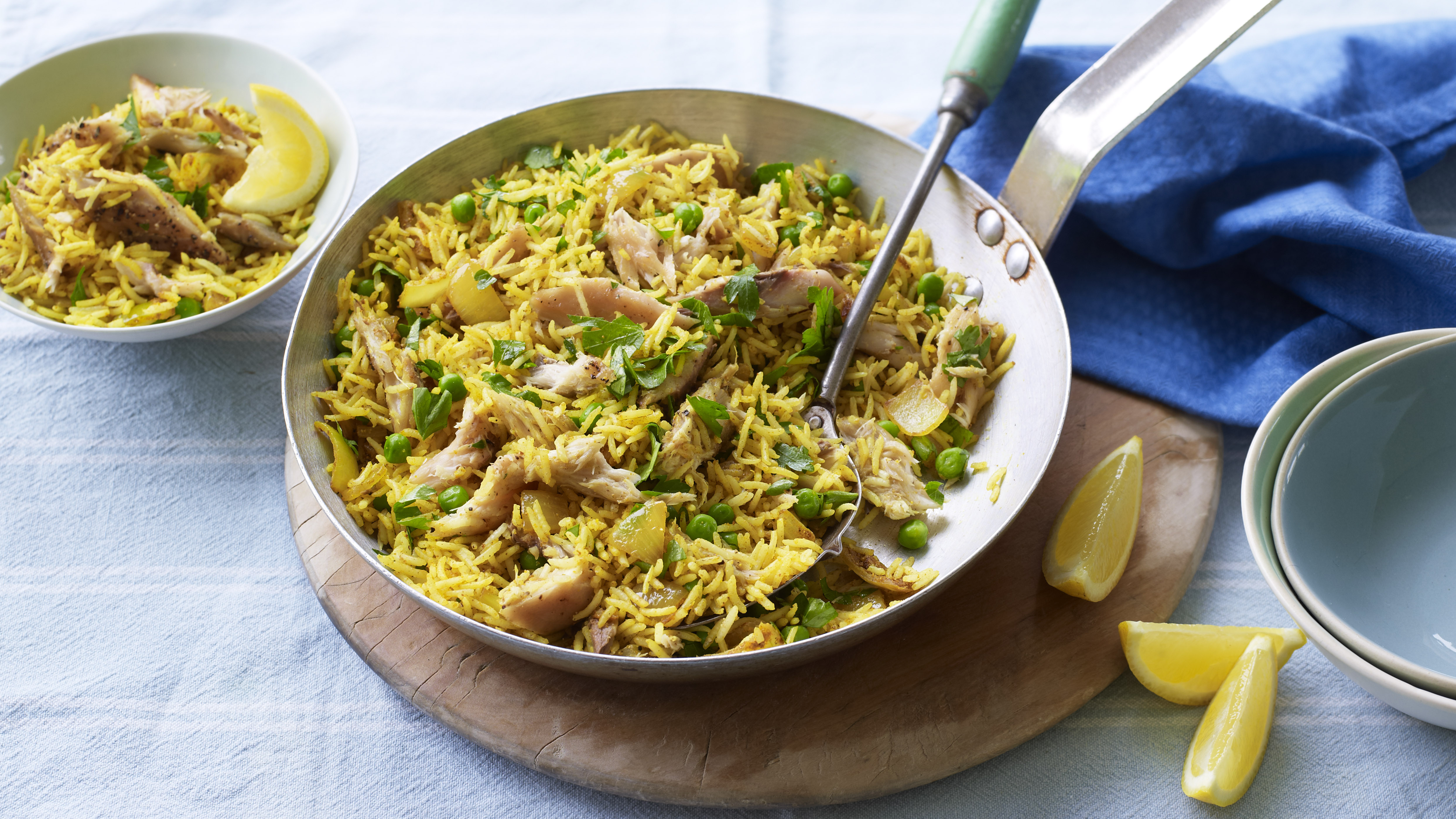 smoked mackerel pilau rice recipe bbc food