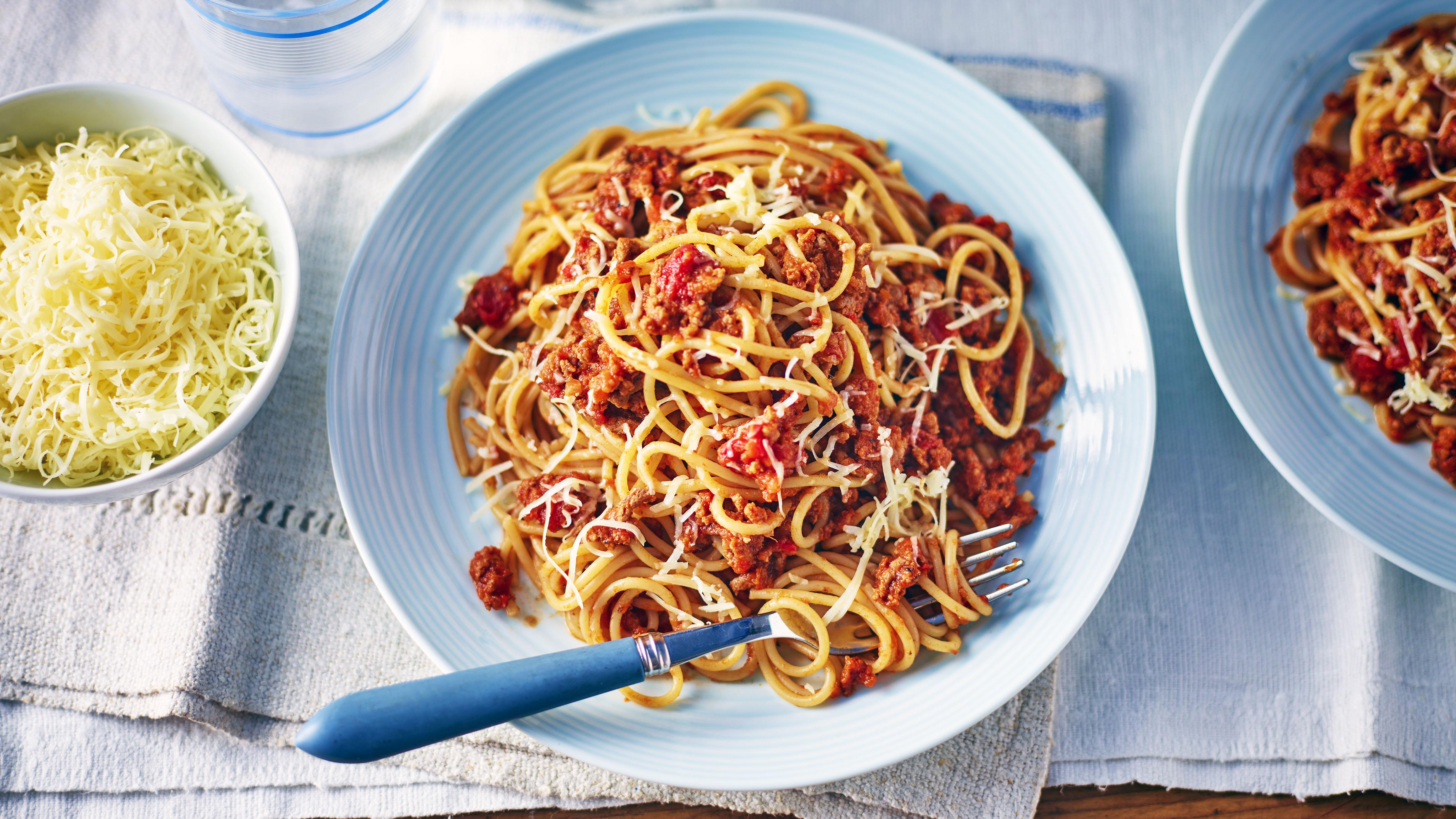 Spaghetti Bolognese With Hidden Veggies Recipe Bbc Food