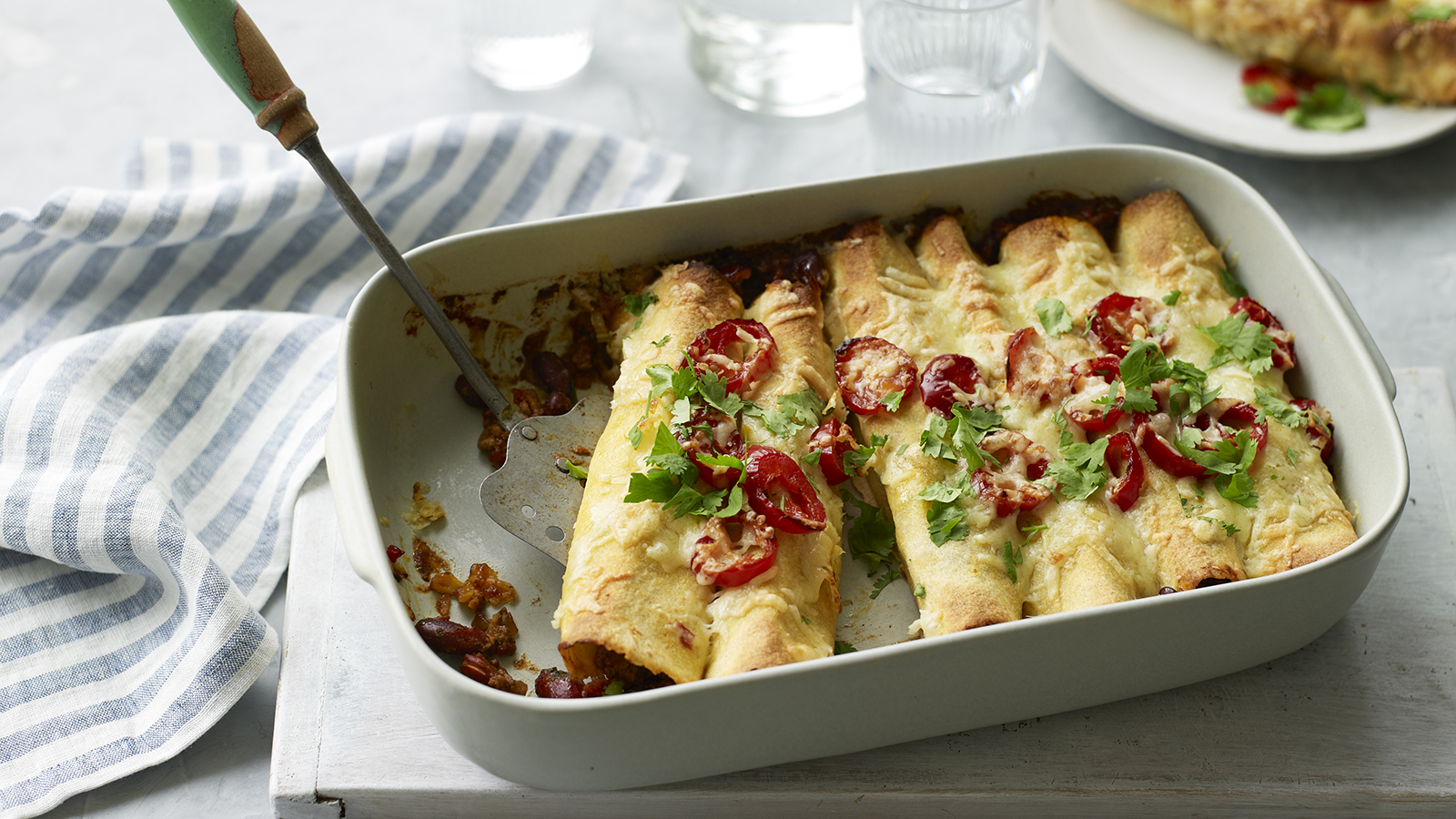 Beef Enchiladas Recipe Bbc Food