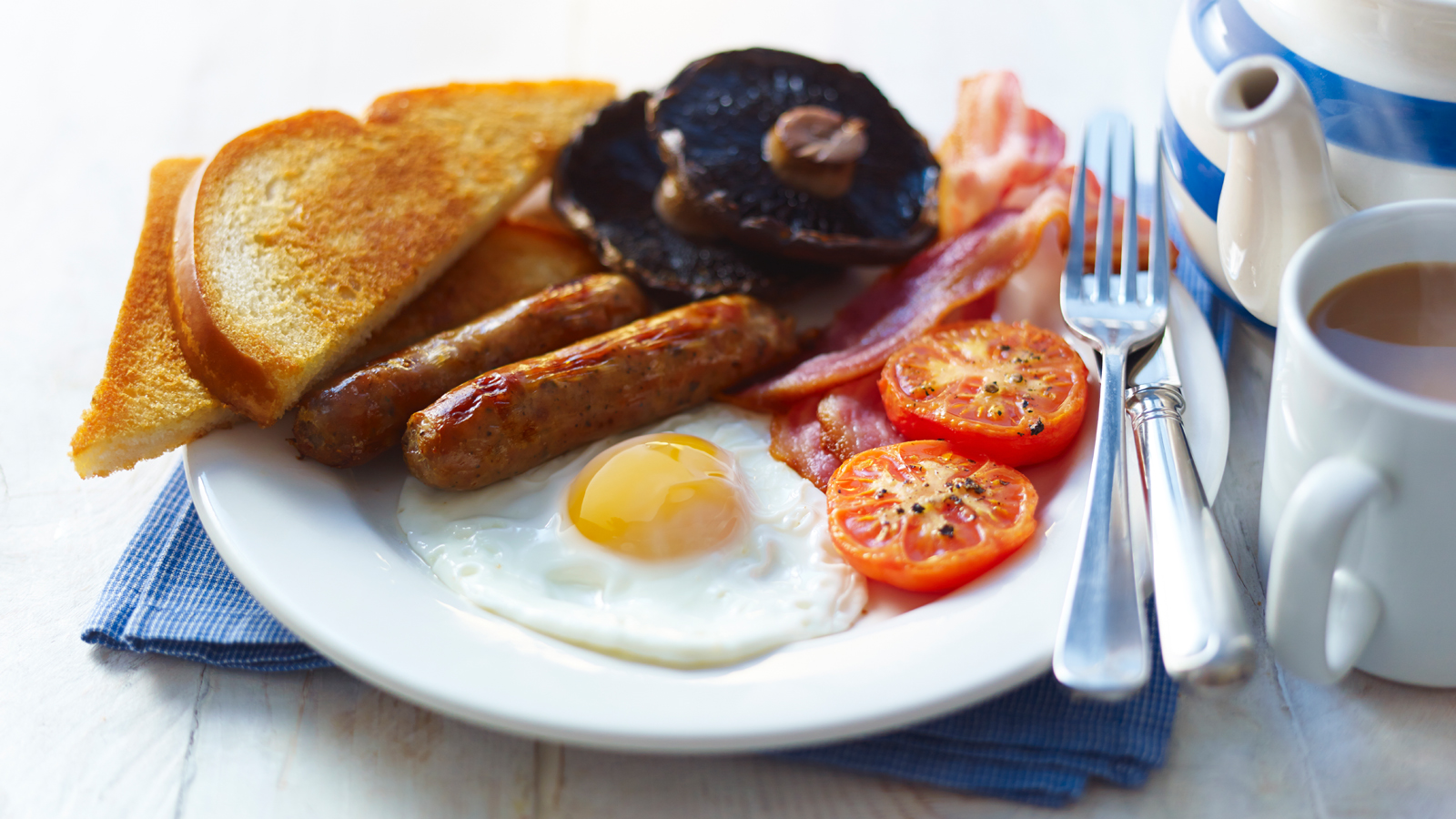 Stress free full english breakfast recipe bbc food forumfinder Image collections