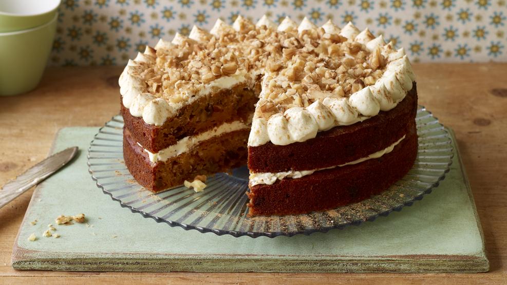 fat free carrot cake recipes uk