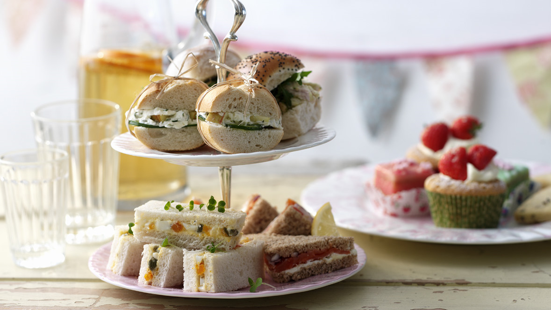 Tea Sandwiches Recipe Bbc Food