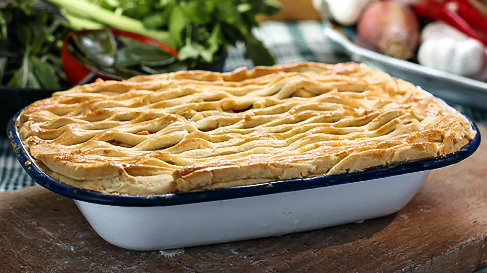 Thai chicken pie recipe bbc food forumfinder