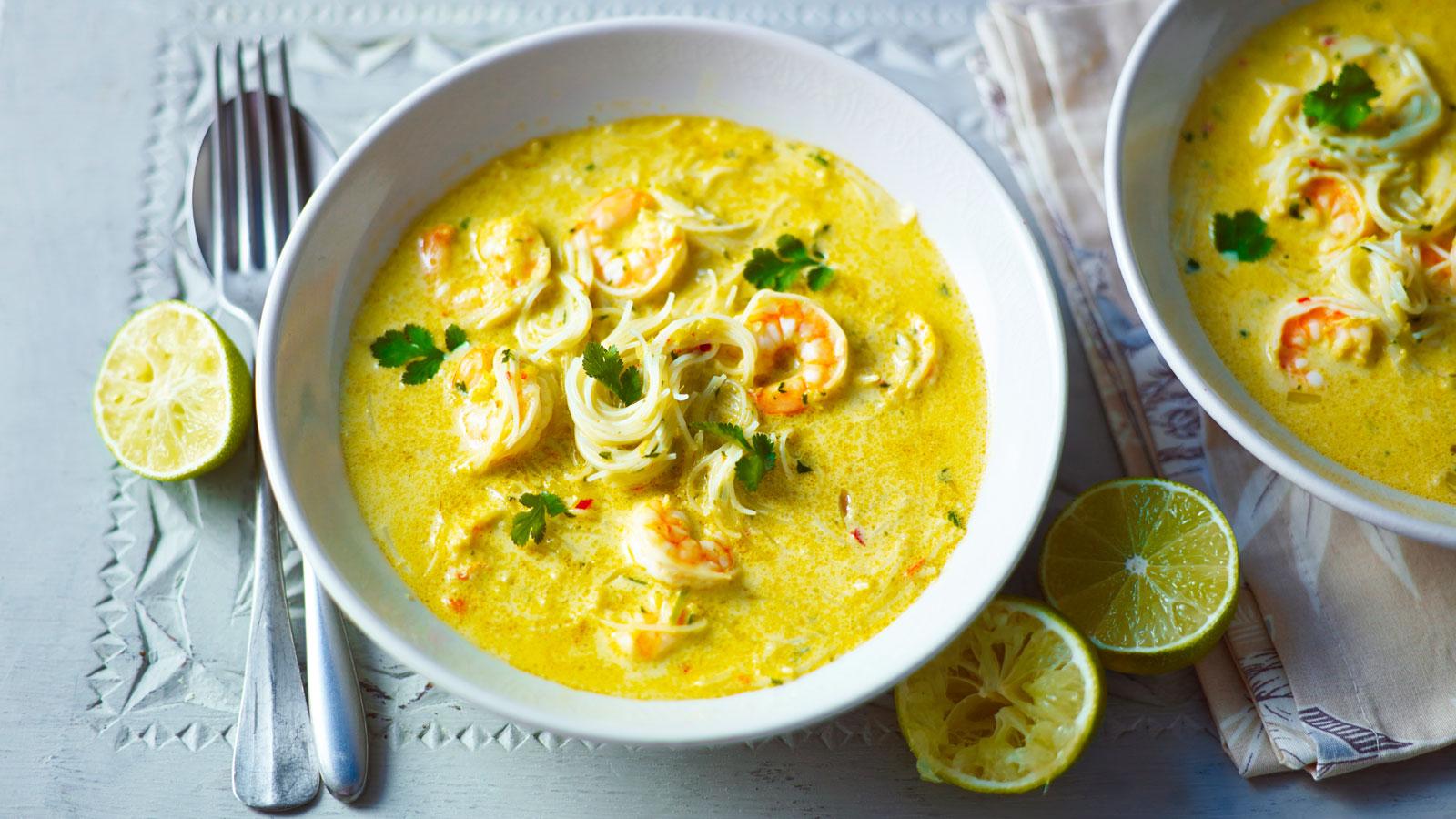 Simple Thai Noodle Soup