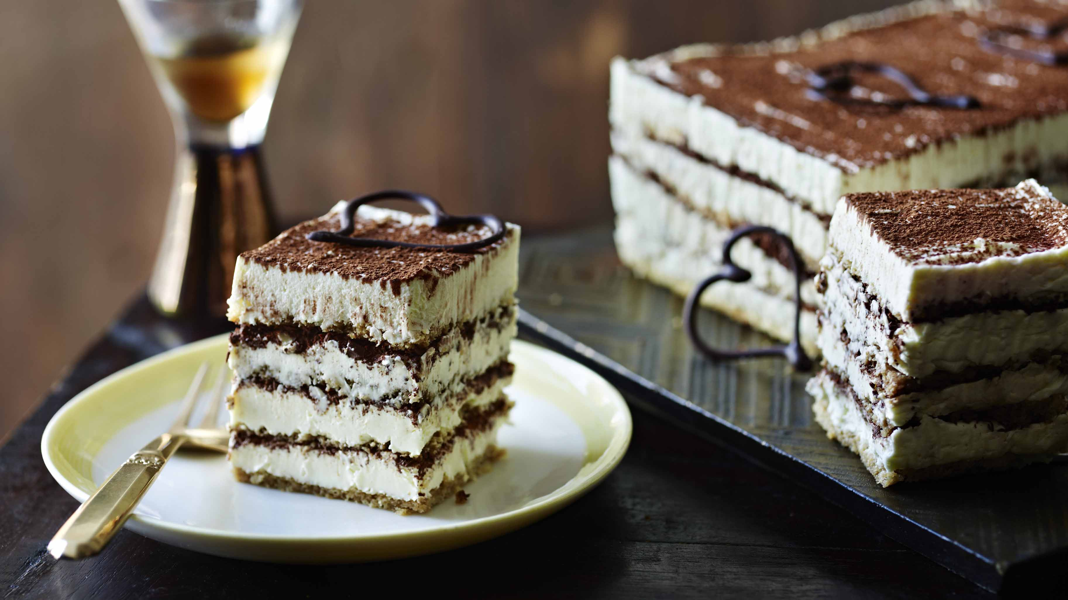 Watch Boozy Tiramisu Torte Recipe video