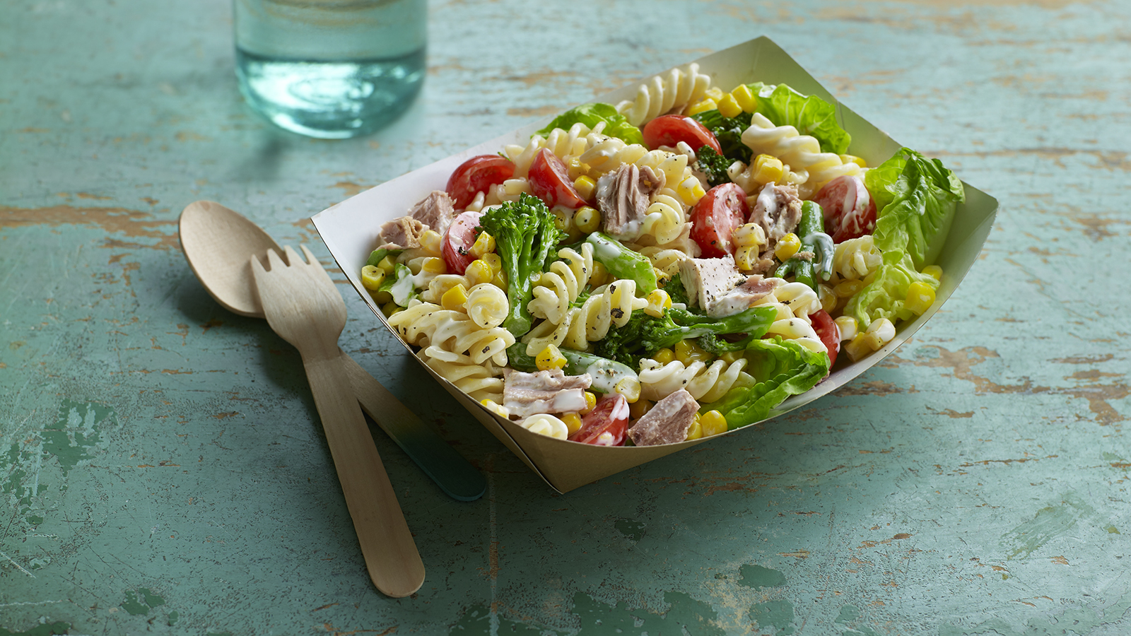 Tuna And Sweetcorn Pasta Salad Recipe Bbc Food