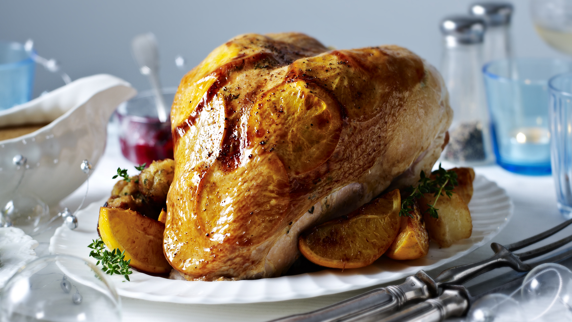 Mary Berry S Roast Turkey Crown Recipe Bbc Food