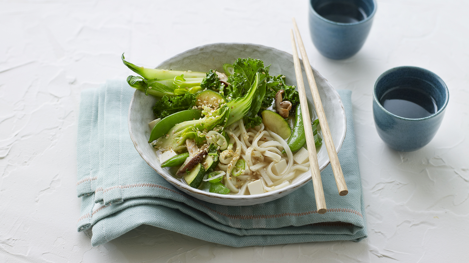 Udon Noodle Soup Recipe Bbc Food