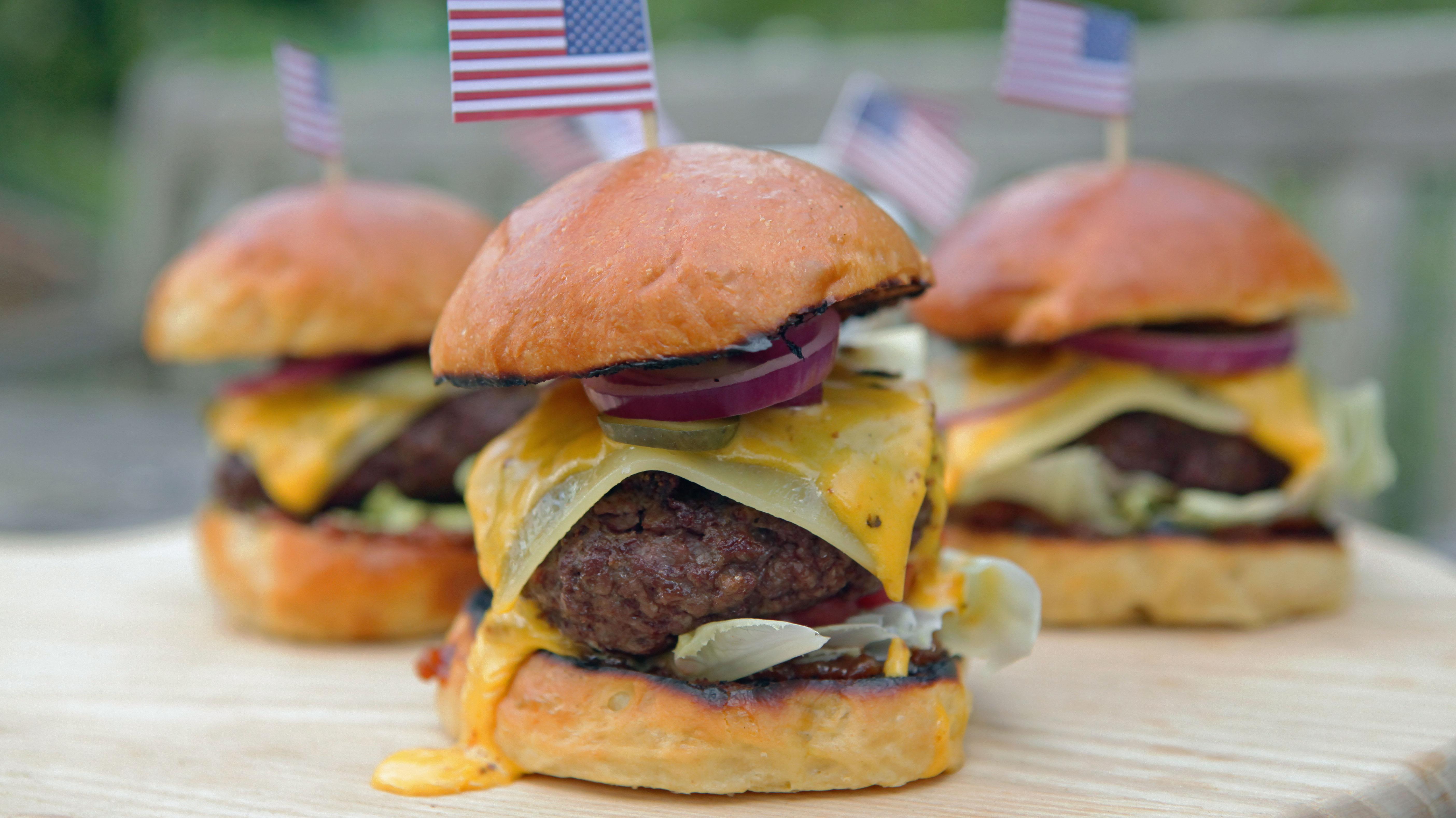 Ultimate Burger In A Brioche Bun Recipe Bbc Food