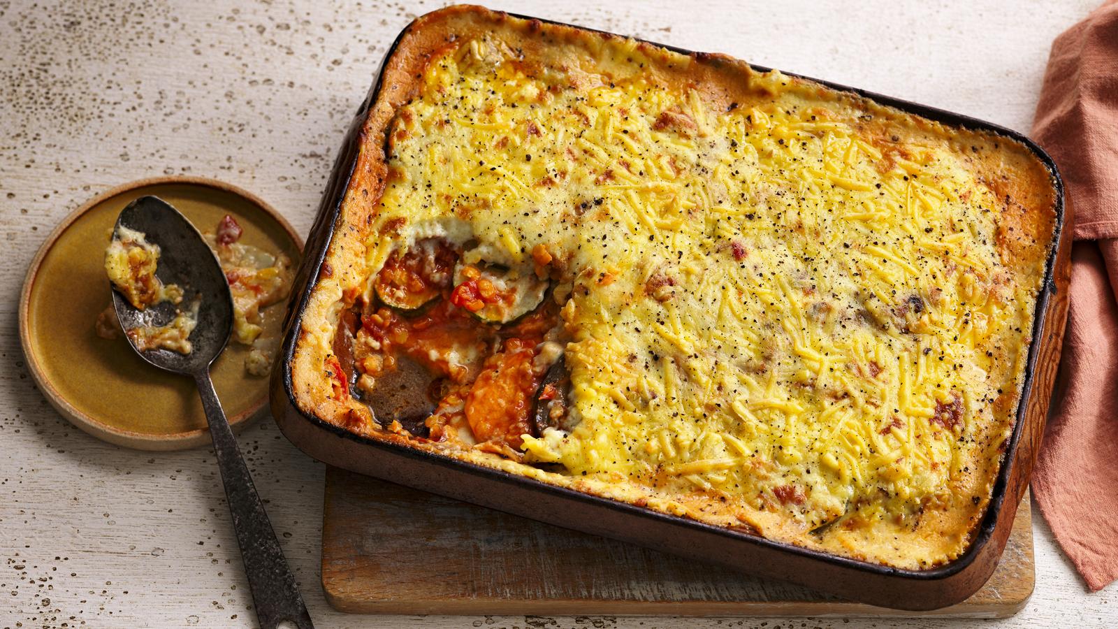 Vegan Moussaka Recipe Bbc Food