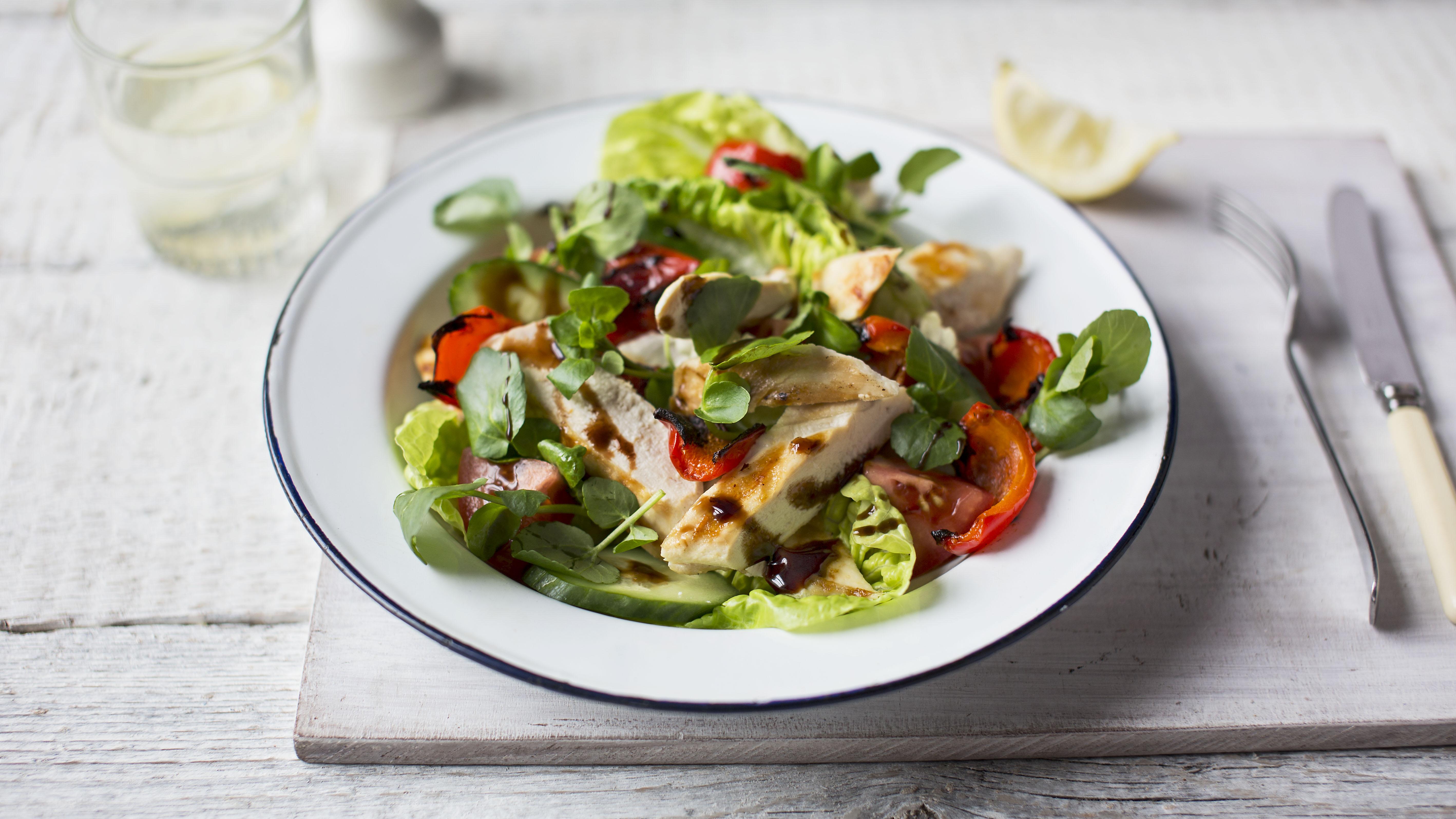 Warm Chicken Salad Recipe Bbc Food