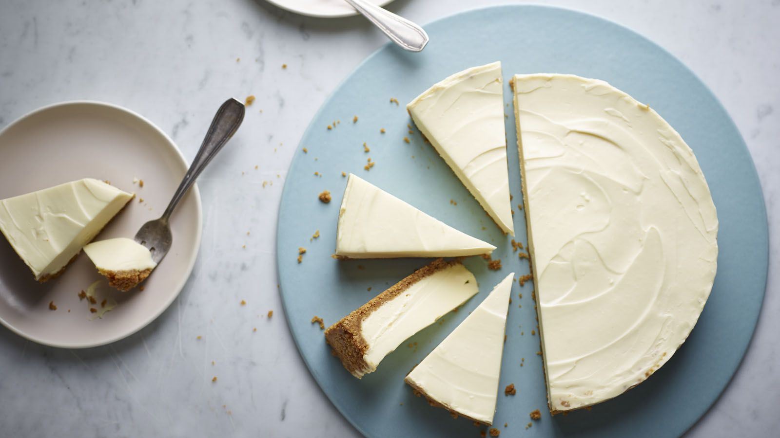 Nigella S White Chocolate Cheesecake Recipe Bbc Food